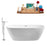 "Tub, Faucet and Tray Set Streamline 67"" Freestanding NH701-140"
