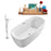 "Tub, Faucet and Tray Set Streamline 59"" Freestanding NH780-140"