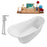 "Tub, Faucet and Tray Set Streamline 59"" Freestanding NH820-120"
