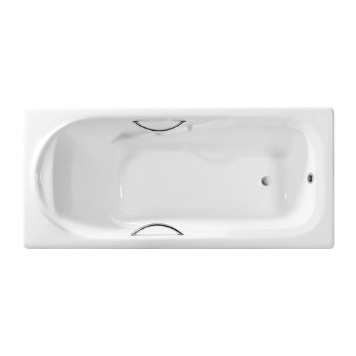 67'' Streamline Cast Iron R5601CH Drop In Bathtub With External Drain
