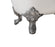 "Cast Iron Tub, Faucet and Tray Set 72"" RH5020CH-CH-100"