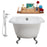 "Cast Iron Tub, Faucet and Tray Set 48"" RH5101CH-CH-100"