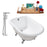"Cast Iron Tub, Faucet and Tray Set 48"" RH5101CH-CH-120"