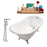 "Cast Iron Tub, Faucet and Tray Set 60"" RH5120CH-CH-120"