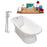 "Cast Iron Tub, Faucet and Tray Set 66"" RH5140CH-120"