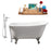 "Cast Iron Tub, Faucet and Tray Set 53"" RH5460CH-CH-100"