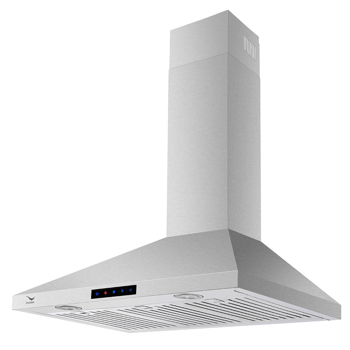 36'' Streamline S-161-WSBFL-36 Ducted Wall Mount Kitchen Range Hood