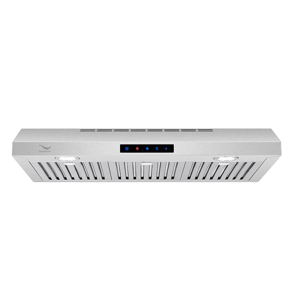 30'' Streamline S-220-USBFL-30 Ducted Under Cabinet Kitchen Range Hood
