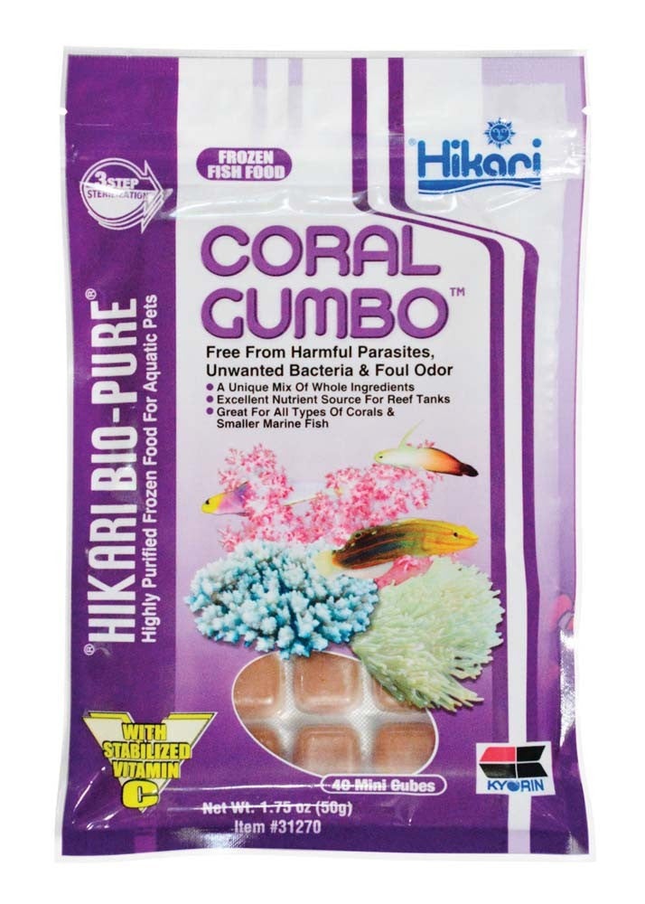 Hikari - Frozen Coral Gumbo Fish Food 1.75oz