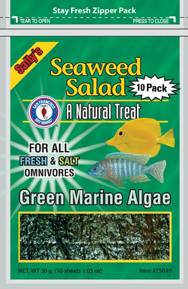 San Francisco Bay -Seaweed Salad Green Fish Food 30ct