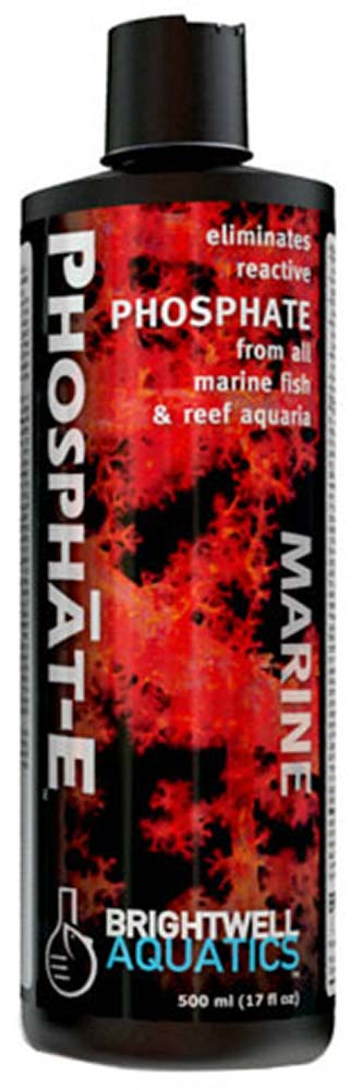 Brightwell Aquatics - Phosphat-E Liquid Phosphate Remover for all Marine Aquaria 500ml / 17oz