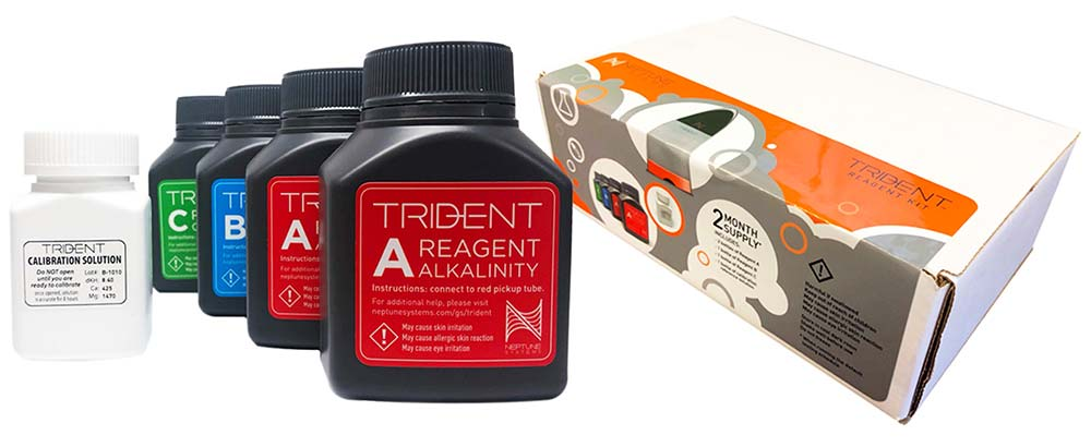 Neptune Systems Trident Reagent Kit - Two Month Supply