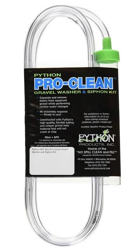 Python - Pro clean Gravel Washer & Siphon Kit