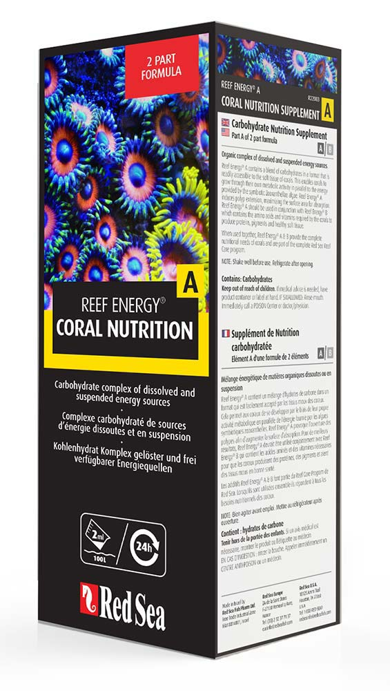 Red Sea - Reef Energy Coral Nutrition A