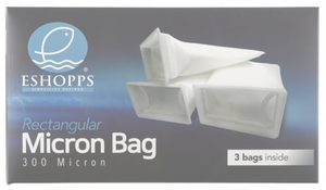 ESHOPPS - Rectangle Micron Bag 300 Micron - Filter Sock