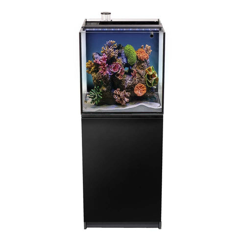 AQUATOP's Recife Eco Aquarium Kit with Stand Black 24gal