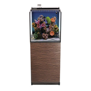 AquaTops - Recife Eco Aquarium Kit with Stand Black 24gal