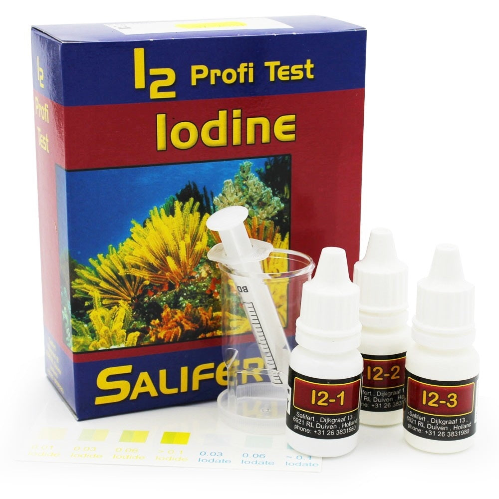 Iodine Test Kit - Salifert