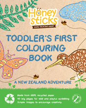 Load image into Gallery viewer, Toddlers First Colouring Book - A Kiwi Adventure