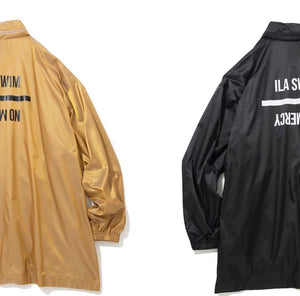 QALB x ILASWIM WINDBREAKER JACKET