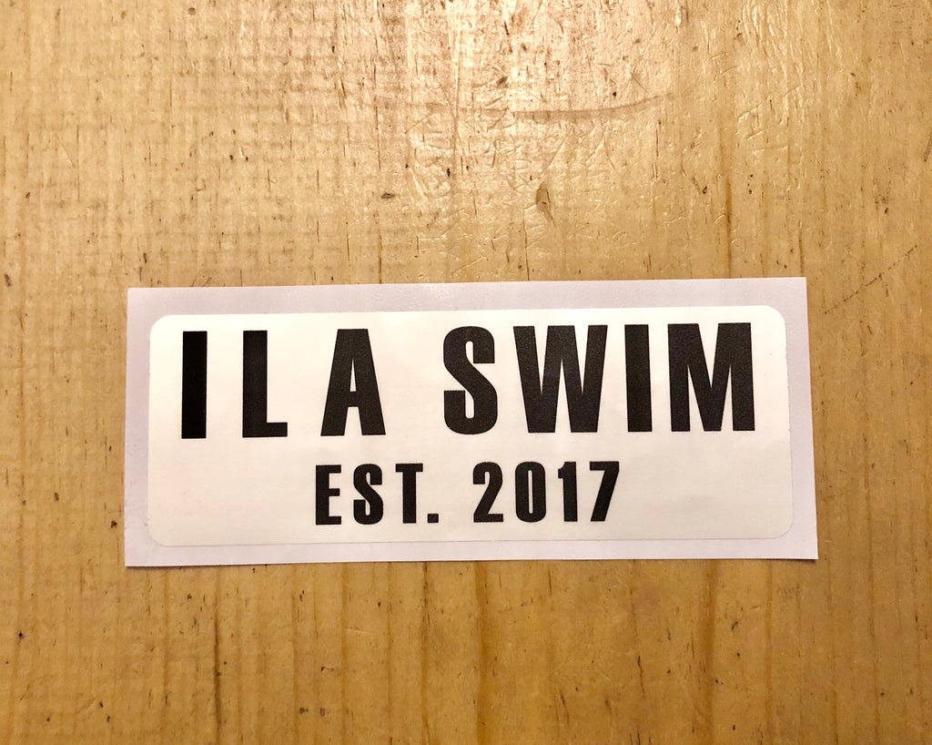 ILASWIM STICKER