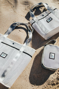 SIG ON SMITH x HAYN x ILASWIM - White Large Beach Bag