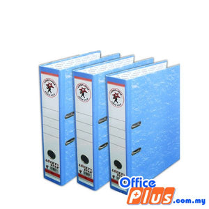 "Lucky Star 3""Colour Lever Arch File - Blue - OfficePlus.com.my"