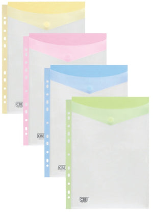 CBE Document Holder (with 11 holes) - A4 (100A) - OfficePlus.com.my
