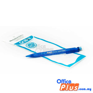 Grabbit Mechanical Pencil 15P 0.5mm (Blue Barrel) - OfficePlus