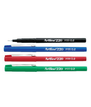 Artline Pen 220 0.2mm (RM 2.10 - RM 2.20/pc) - OfficePlus