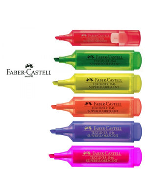 Faber Castell Textliner 46 Highlighter (RM 2.70 - RM 2.80/pc) - OfficePlus