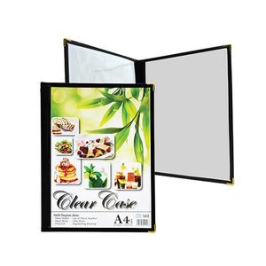 A4 Clear Case Menu ( 162 ) / 6 pcs - OfficePlus