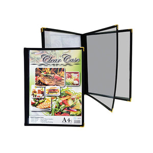 A4 Clear Case Menu ( 163 ) / 6 pcs - OfficePlus