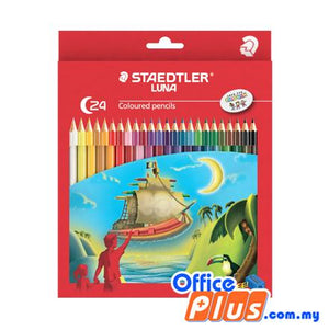 Staedtler Luna Colored Pencils (RM 4.90 - RM 19.90/box) - OfficePlus