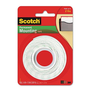 3M MOUNTING TAPE 12.7MM x 1.9M - OfficePlus.com.my