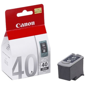 Canon PG-40 Black Ink(Genuine) PG40 1180 1200 1300 1600 1700 1880 1980 - OfficePlus