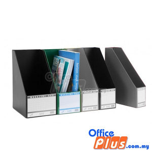 "East-File 5"" PVC Magazine Box (412-5) - Black - OfficePlus.com.my"