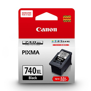 Canon Original Ink Cartridge PG-740 XL - Black - OfficePlus.com.my