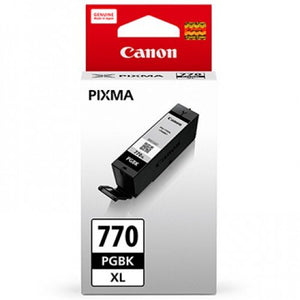 Canon PGI-770 XL Black Pigment Ink Tank (22.2ml) - OfficePlus.com.my