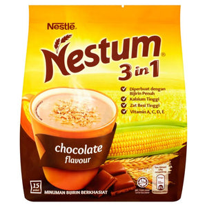 Nestum 3 in 1 Cereal Chocolate (15 x 28g) - OfficePlus