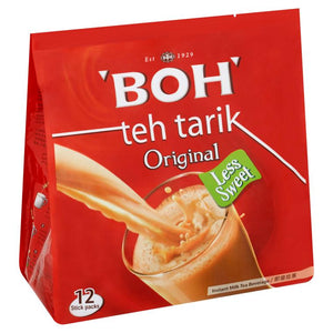 BOH 3 in 1 Teh Tarik Instant Milk Tea Beverage Original (27g x 12) - OfficePlus