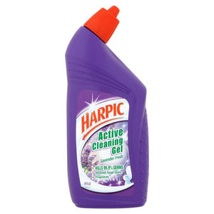 HARPIC Active Cleaning Gel Lavender Fresh 500 ml - OfficePlus.com.my