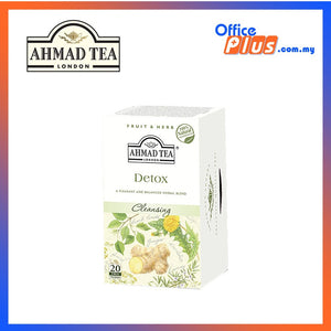 Ahmad Tea Detox Herbal Infusion - 20 teabags - OfficePlus.com.my