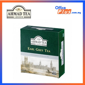 Ahmad Tea Earl Grey Tea - 100 teabags - OfficePlus