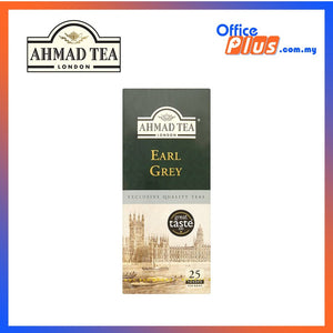 Ahmad Tea Earl Grey Tea - 25 teabags - OfficePlus