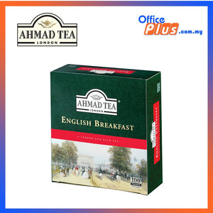 Ahmad Tea English Breakfast Tea - 100 teabags - OfficePlus