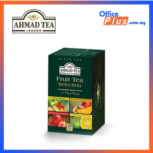 Ahmad Tea Fruit Tea Selection Fruit Tea - 20 teabags - OfficePlus