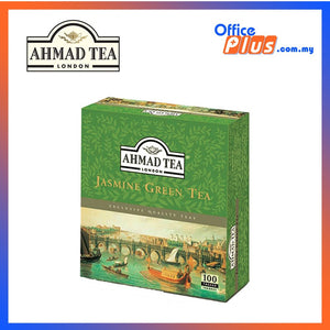 Ahmad Tea Jasmine Romance Green Tea - 100 teabags - OfficePlus