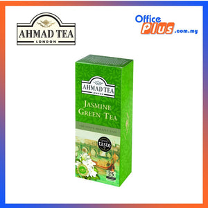 Ahmad Tea Jasmine Romance Green Tea - 25 teabags. - OfficePlus