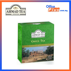 Ahmad Tea Pure Green Tea - 100 teabags - OfficePlus